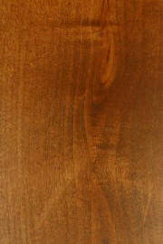 """FC 102 Royal Cherry"" on knotty alder doors"