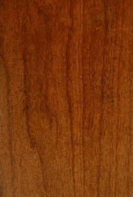 "Cherry Doors with ""FC 102 Royal Cherry"" stain"