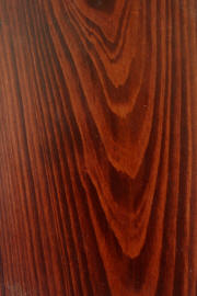"Cypress doors with ""Masters Cherry"" finish"