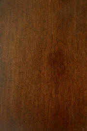 "Hard Maple doors with ""Coffee Brown"" finish"