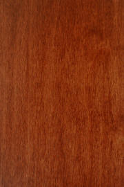 "Hard Maple doors with ""Master's Cherry"" finish"
