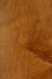 "Hard Maple doors with ""FC 102 Royal Cherry"" finish"