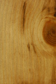 "Knotty Pine doors with ""Candlelight"" finish"