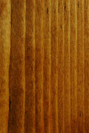 "Knotty Pine doors with ""Coffee"" finish"
