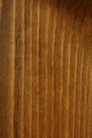 "Knotty Pine doors with ""Danish Walnut"" finish"