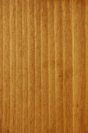 "Knotty Pine doors with ""Fruitwood"" finish"