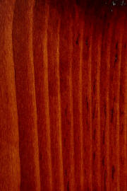 "Knotty Pine doors with ""Masters Cherry"" finish"