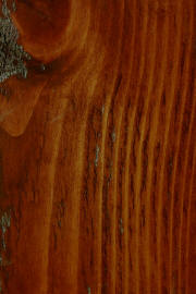 "Knotty Pine doors with ""Penn House"" finish"