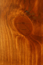 "Knotty Pine doors with ""Santa Fe Mission"" finish"