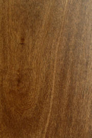 "Poplar doors with ""Danish Walnut"" finish"