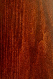 "Poplar doors with ""Masters Cherry"" finish"