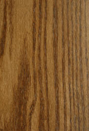 """Danish Walnut"" on plain red oak doors"