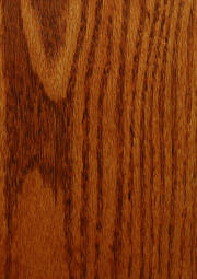 """Curly Maple"" on plain red oak doors"