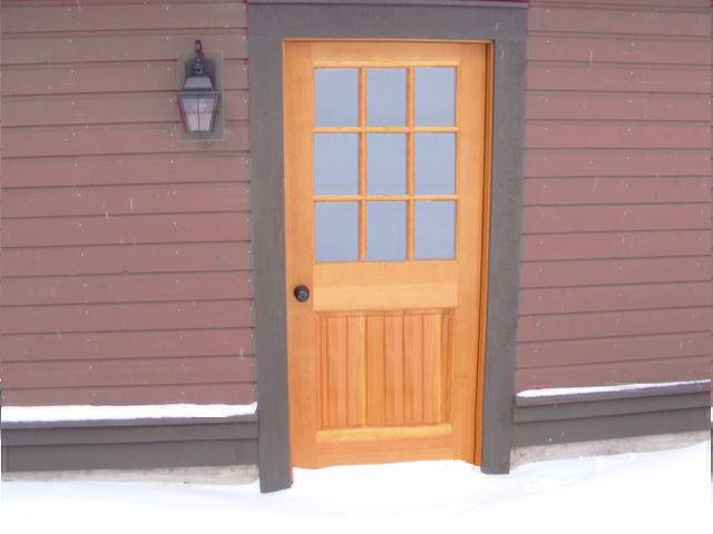 Douglas Fir Doors