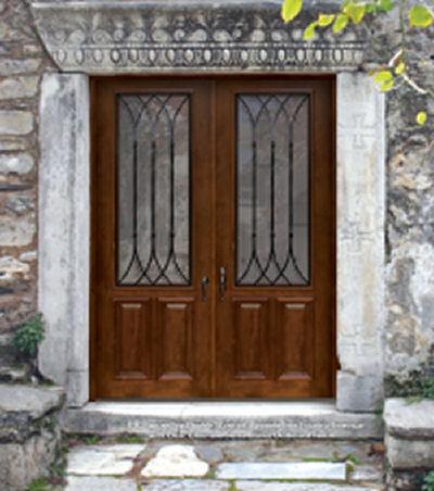 Warwick Double Knotty Alder 2/3 lite & Exterior Doors Custom and Stock - Homestead Interior Doors