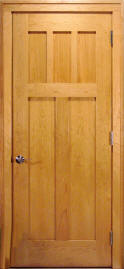Beau Cherry Reverse 4 Panel Interior Door
