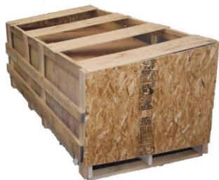 Typical door crates