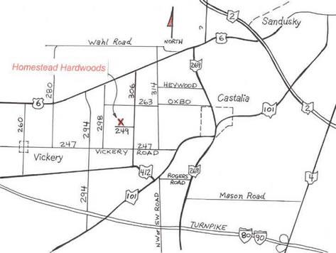 Map Locator For Homestead Doors