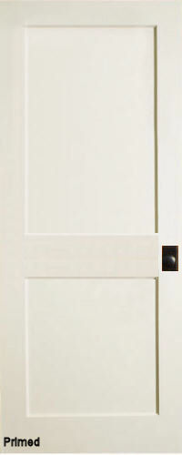 Mission 2-Panel Primed MDF Interior Doors & Mission 2-Panel Primed MDF Interior Doors | Homestead Doors