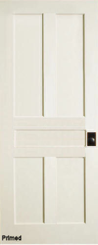 ... Traditional 5 Panel Interior Door (Primed)