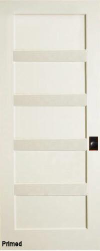 Primed MDF Horizontal 5-Panel Interior Door & Primed MDF Horizontal 5-Panel Interior Doors with Flat Panels ... Pezcame.Com