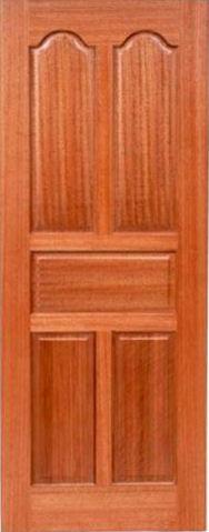 Eyelid 5-panel. Eyebrow2panel_AfricanMahoganyDoor & African Mahogany Doors