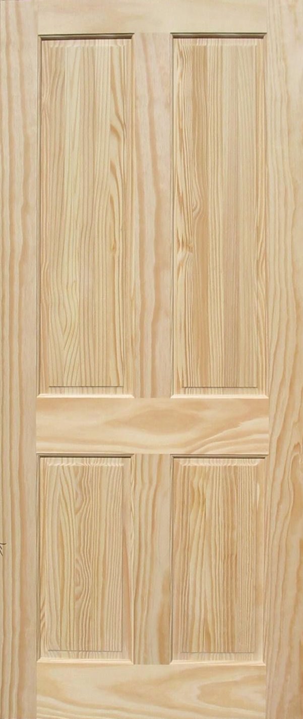 4 panel pine door  sc 1 st  Homestead Doors & Clear Pine Doors
