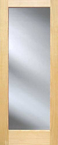 Pine full view french interior doors homestead doors for Full glass french doors