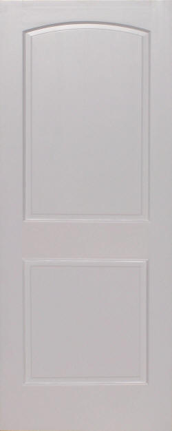 Primed Pine Arch 2 Panel Wood Interior Doors Homestead Doors