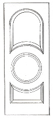RP-3230 raised panel interior doors
