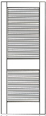 HickoryDoor_#730 louvered interior door