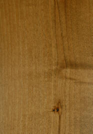 """ ax medium"" on knotty alder doors"