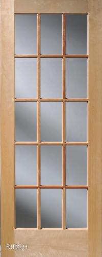 Homestead Interior Doors Divided 15 Lite French Glass Door