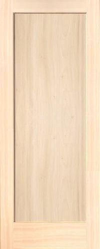 Poplar Mission 1 Panel Wood Interior Doors Homestead Doors