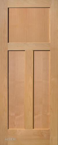 ... Alder Traditional 3 Panel Interior Door ...