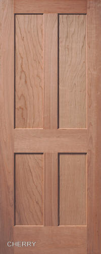 Superbe ... Cherry Traditional 4 Panel Interior Door