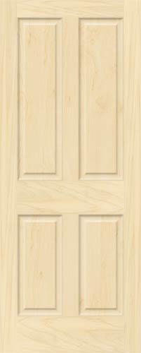 Birch 4 Panel Doors