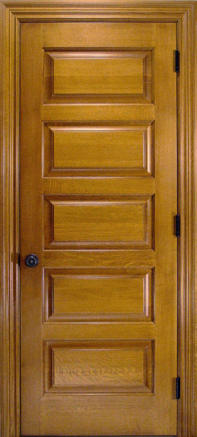 Quartersawn White Oak Doors