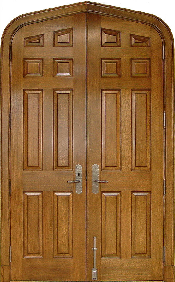 Oak Doors With Windows : Quartersawn white oak doors