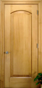 hard maple doors