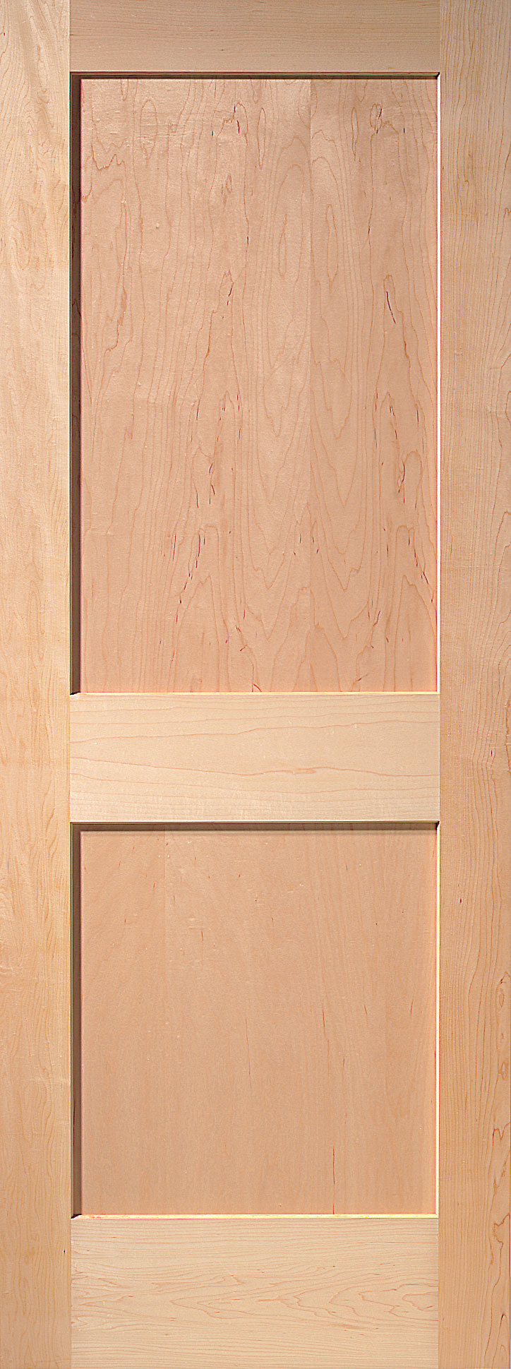 2 Panel Maple Interior Door