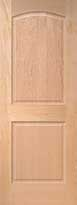 Maple Arch 2-Panel Interior Door