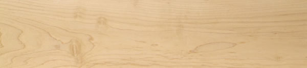 selected white hard maple plain sawn with no finish