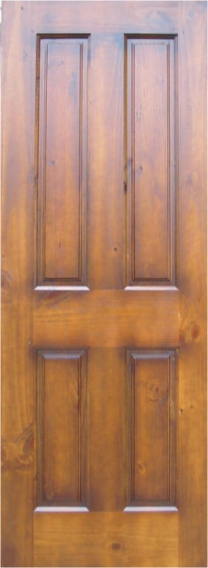 4panelPrefinished_KnottyPineDoor