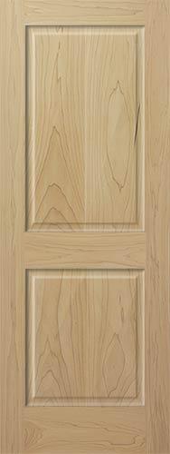 Poplar 2 Panel Wood Interior Doors Homestead Doors