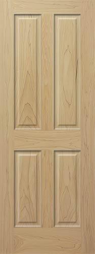 Poplar 4 Panel Wood Interior Doors Homestead Doors