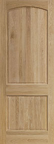 8 panel White oak door unfinished