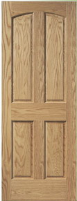 Arched 4 Panel Doors