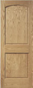 Arched 2 Panel Doors