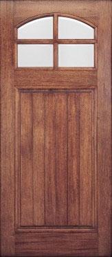 AAW Series HTC 40 Mahogany Entry Door